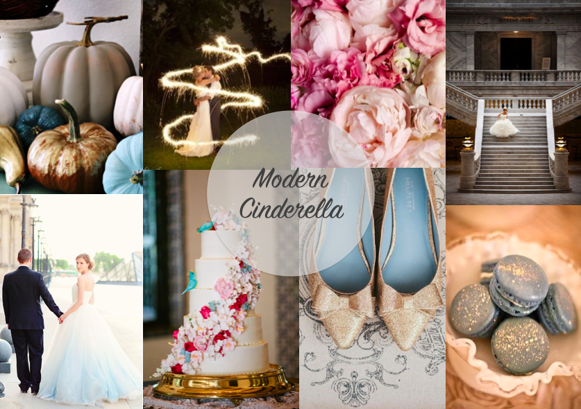 Modern Cinderella Themed Wedding Papillon Events